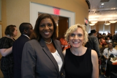 Tish James & Jennifer Flynn